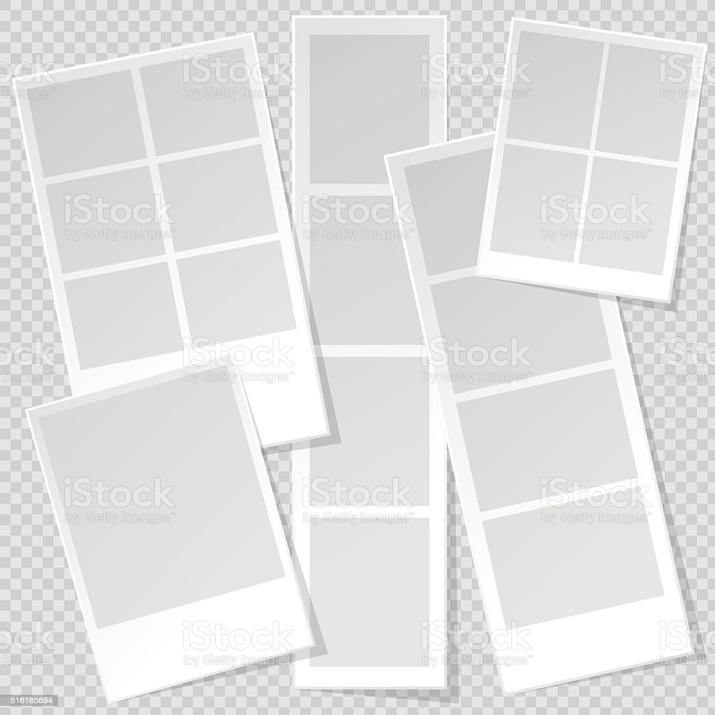 paper picture frames templates