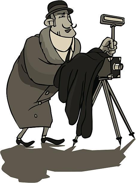 Cartoon Of Vintage Camera Tripod Illustrations, Royalty ... (454 x 612 Pixel)
