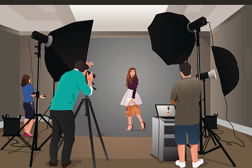 Photographer stock illustrations