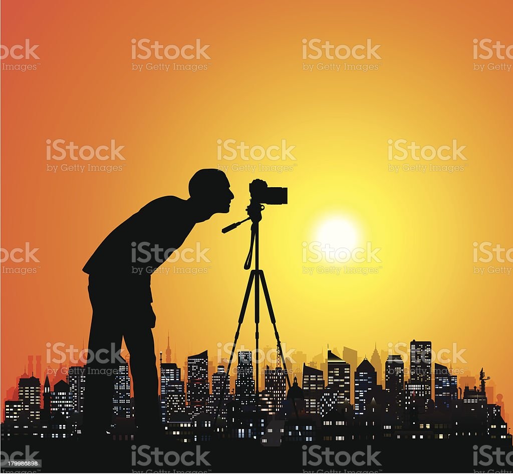 Photographer royalty-free stock vector art