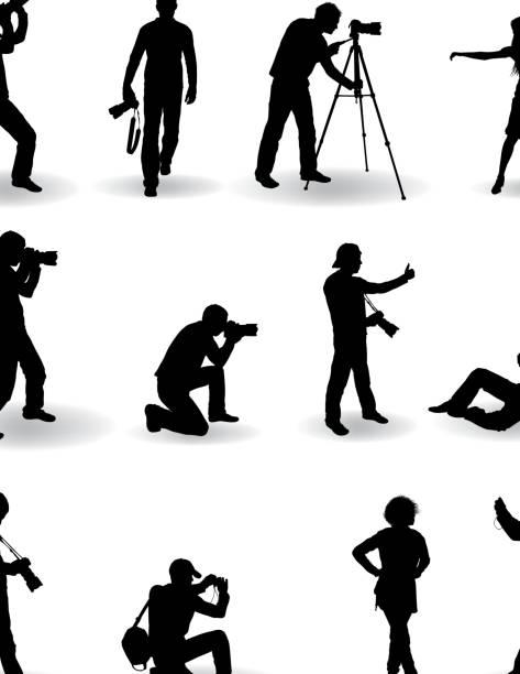 fotograf - fotografika stock illustrations