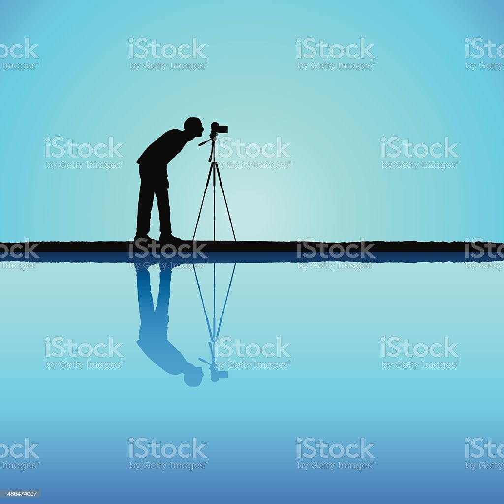 Photographer royalty-free stock vector art