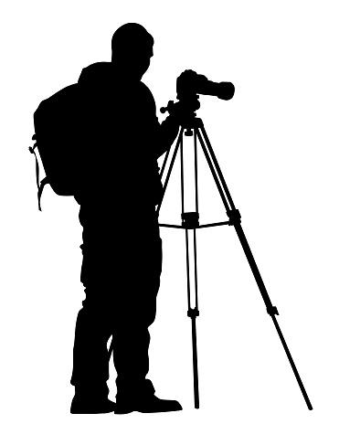 Photographer whit tripod