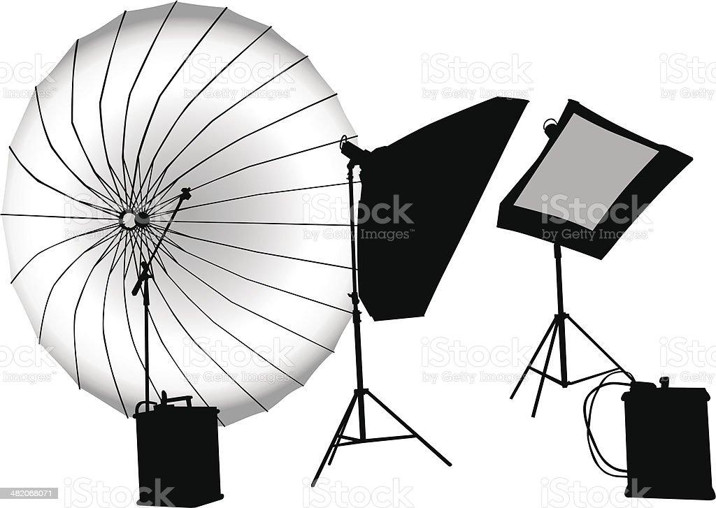 Photographic studios royalty-free stock vector art