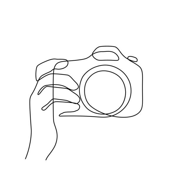 撮影 - カメラ点のイラスト素材/クリップアート素材/マンガ素材/アイコン素材