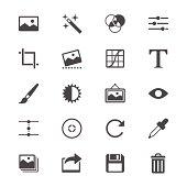 istock Photography flat icons 487525055