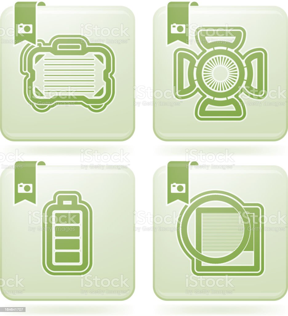 Photography Icons Set royalty-free photography icons set stock vector art & more images of bag