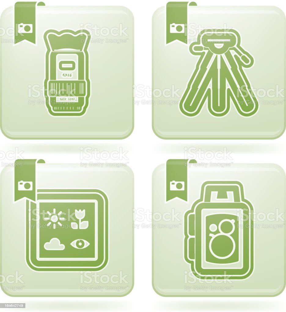Photography Icons Set royalty-free photography icons set stock vector art & more images of camera - photographic equipment