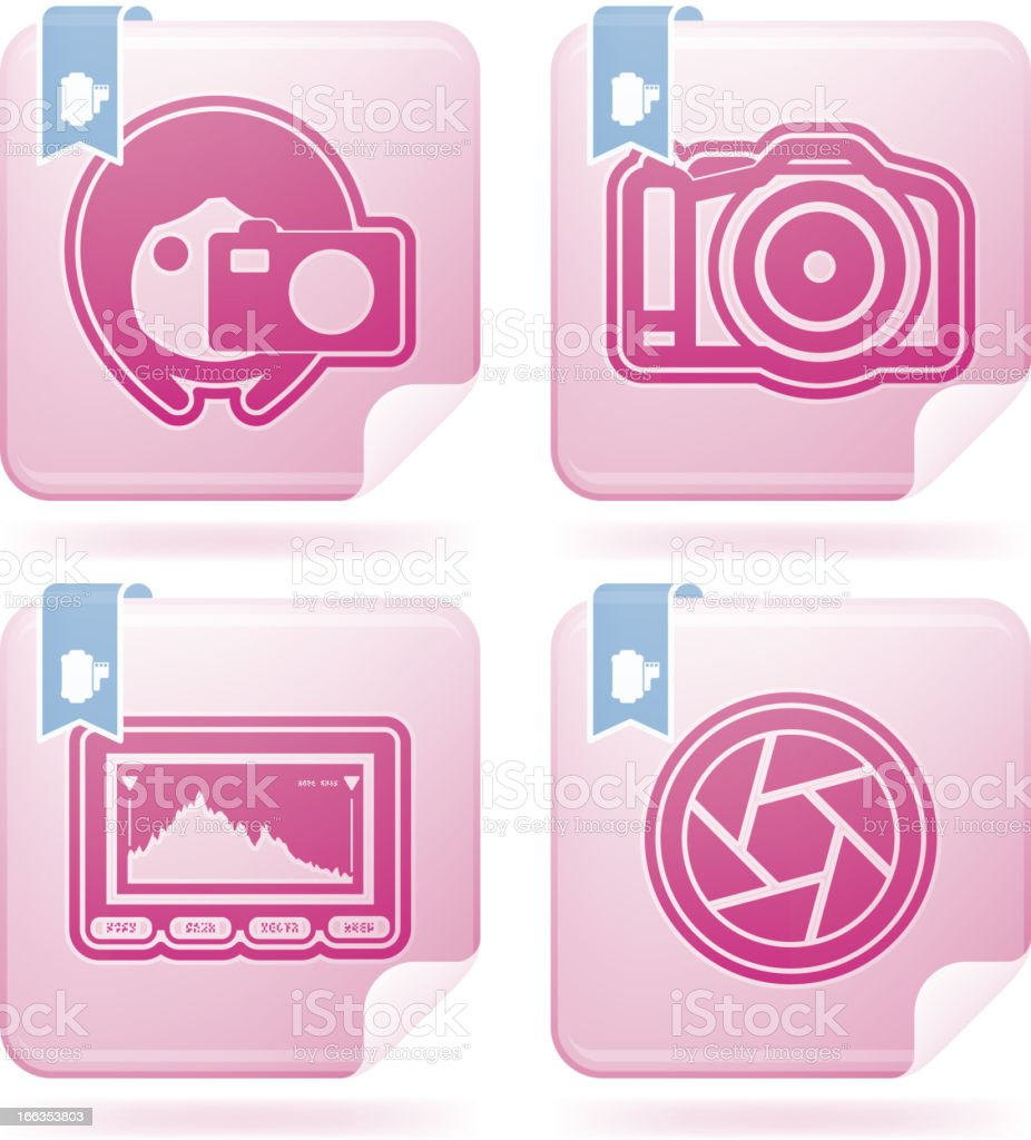 Photography Icons Set royalty-free photography icons set stock vector art & more images of blue