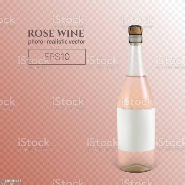 Photorealistic bottle of rose sparkling wine on a transparent vector id1136194131?b=1&k=6&m=1136194131&s=612x612&h=ebgcpcoaj eytovlzs3ibo7l xxqjmm73egyyxxz5o4=