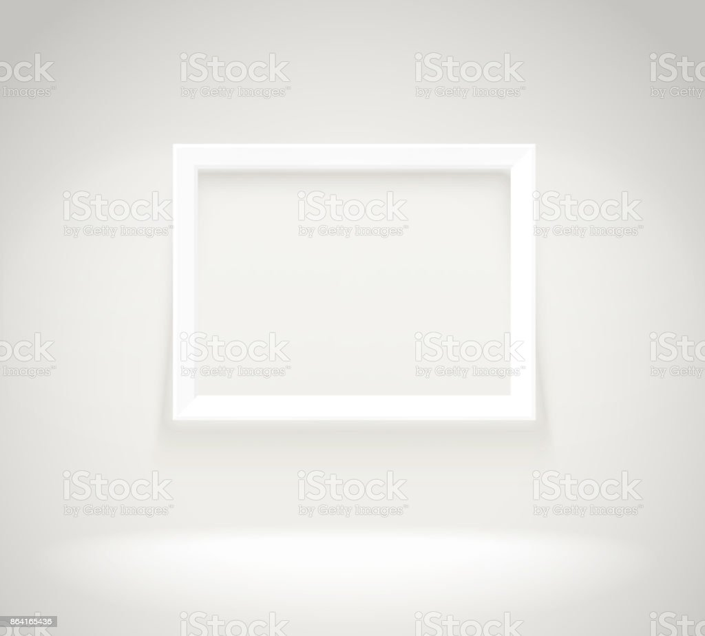 Photorealistic bright gallery with projectors. Presentation vector template royalty-free photorealistic bright gallery with projectors presentation vector template stock vector art & more images of advertisement