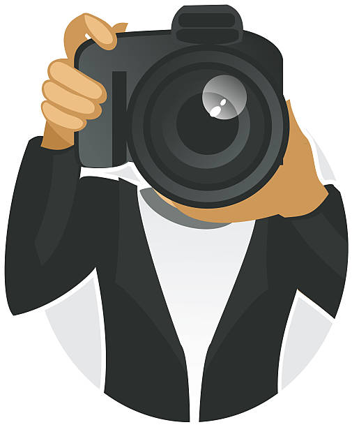 Paparazzi clip art vector images illustrations istock for Paparazzi clipart