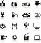 Photo-Video Icon Set