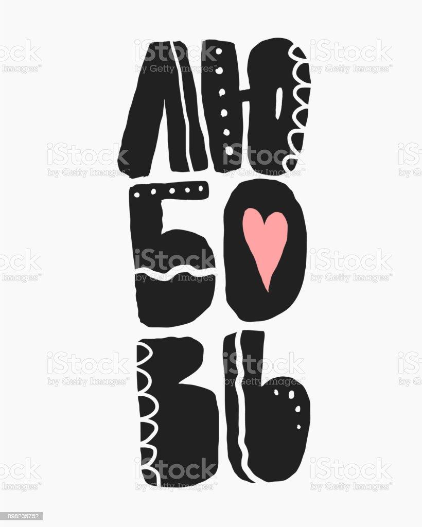 Ilustración De Frase De Amor En Ruso Frase Para El Día De