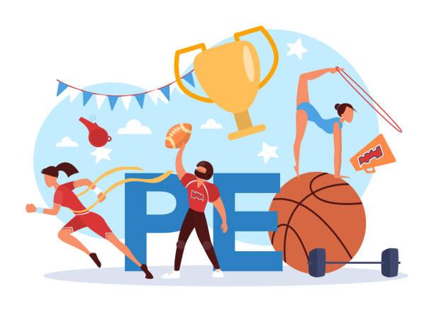 123 Physical Education Teacher Illustrations & Clip Art - iStock