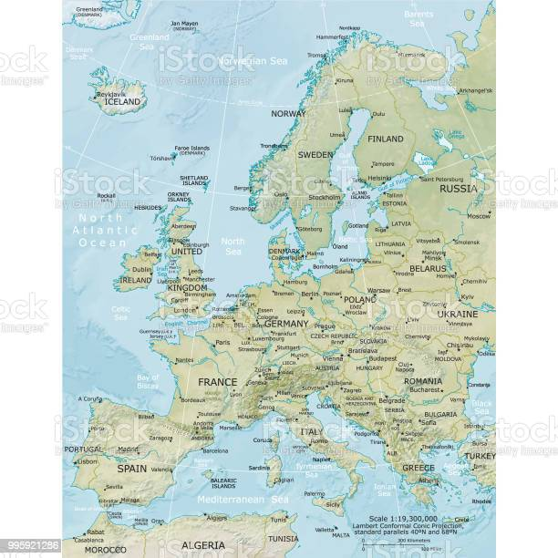 Vector Maps of Europe - Download Free Vectors, Clipart ...
