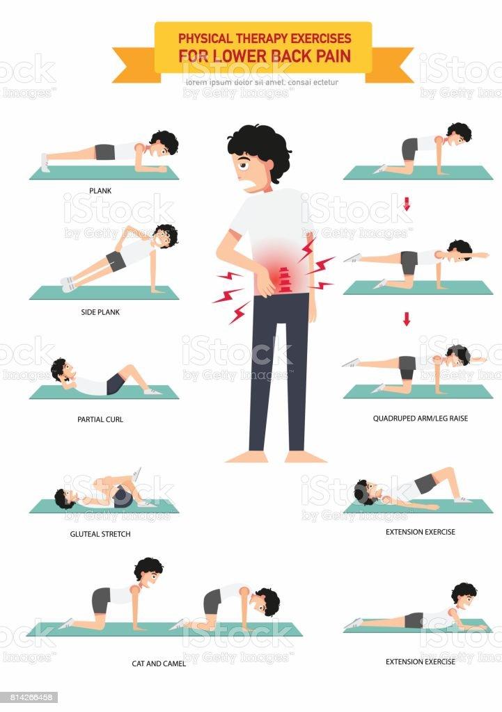Physikalische Therapie Übungen Für Unteren Rücken Schmerzen ...