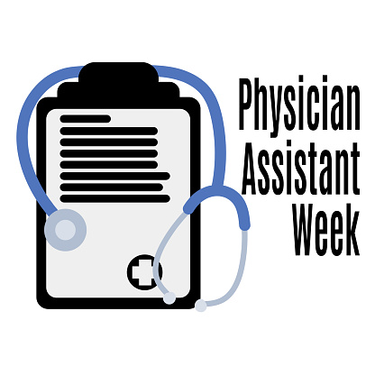 Physician Assistant Week, Medical poster, banner or flyer idea
