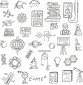 Physics, chemistry and astronomy science sketches