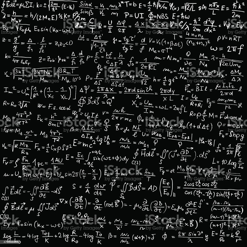 Física - ilustração de arte em vetor