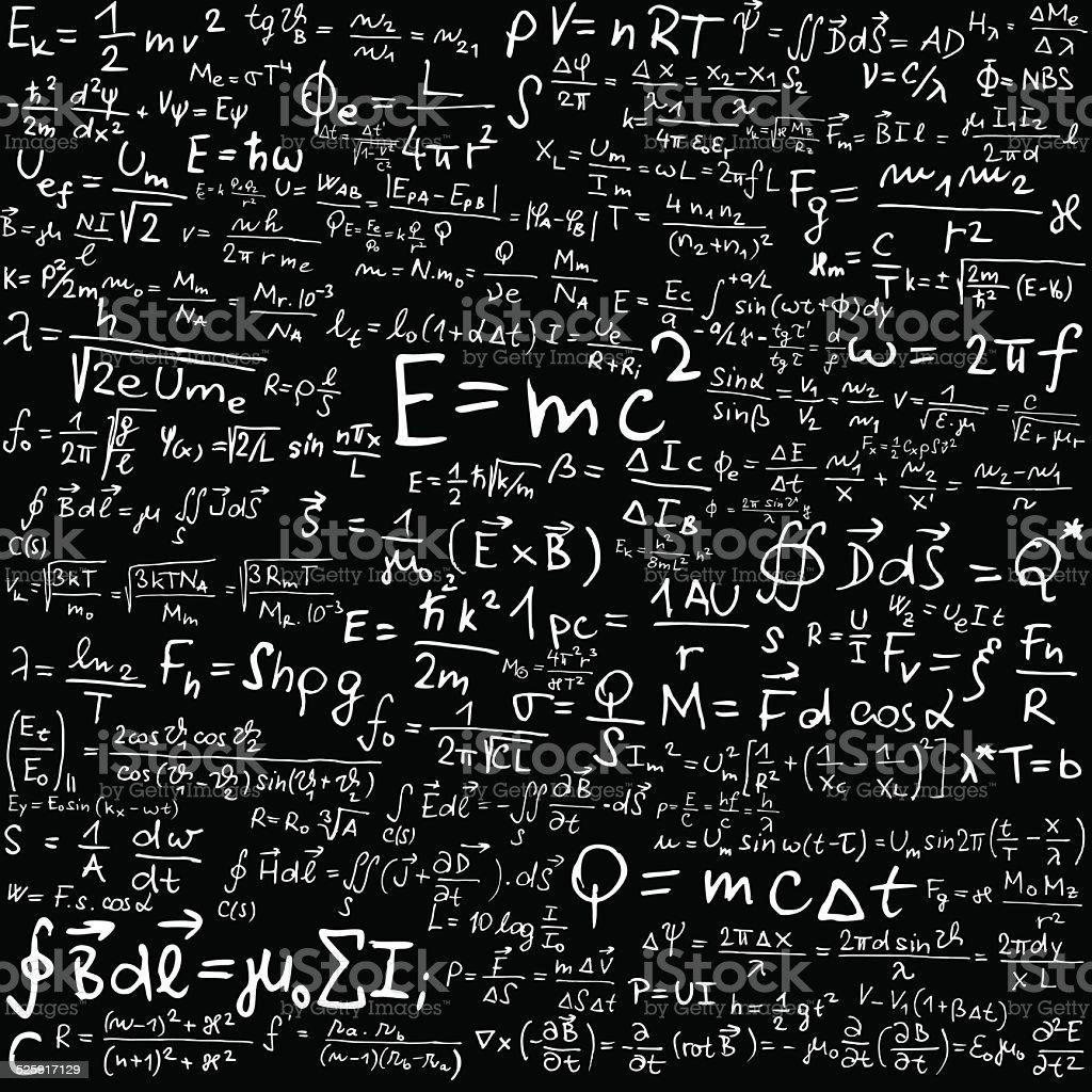 Physics vector art illustration