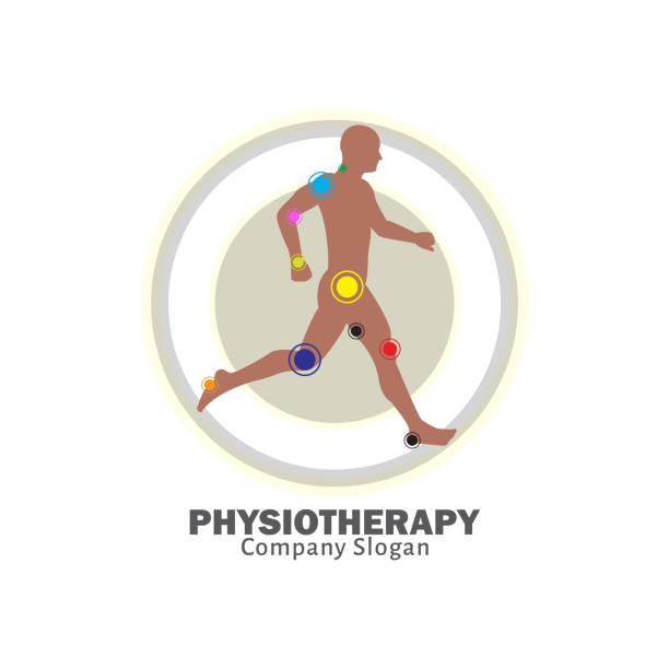 Physiotherapy vector physical therapy stock illustrations