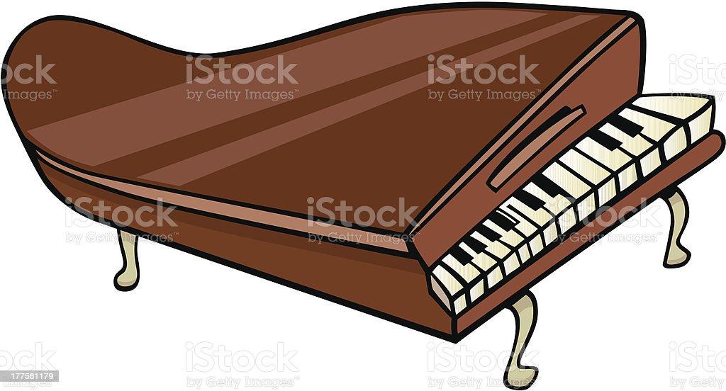 ピアノクリップアート漫画イラストレーション イラストレーションの