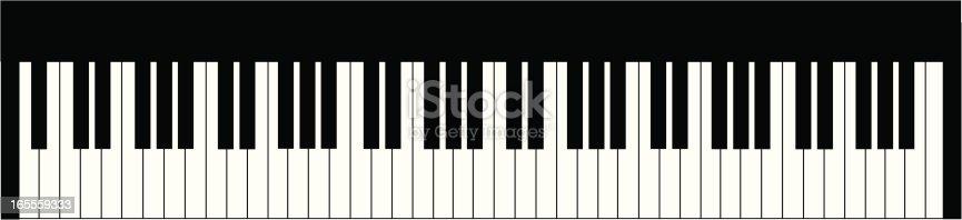 istock Piano Keyboard 165559333