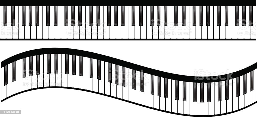 royalty free piano keyboard clip art vector images illustrations rh istockphoto com colorful piano keyboard clipart piano keyboard images clip art