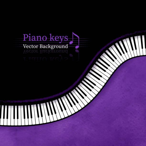 piano klucze wektor tle. - harmonia instrument stock illustrations