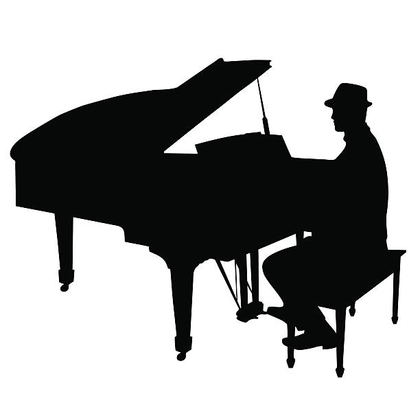 royalty free piano player clip art vector images illustrations