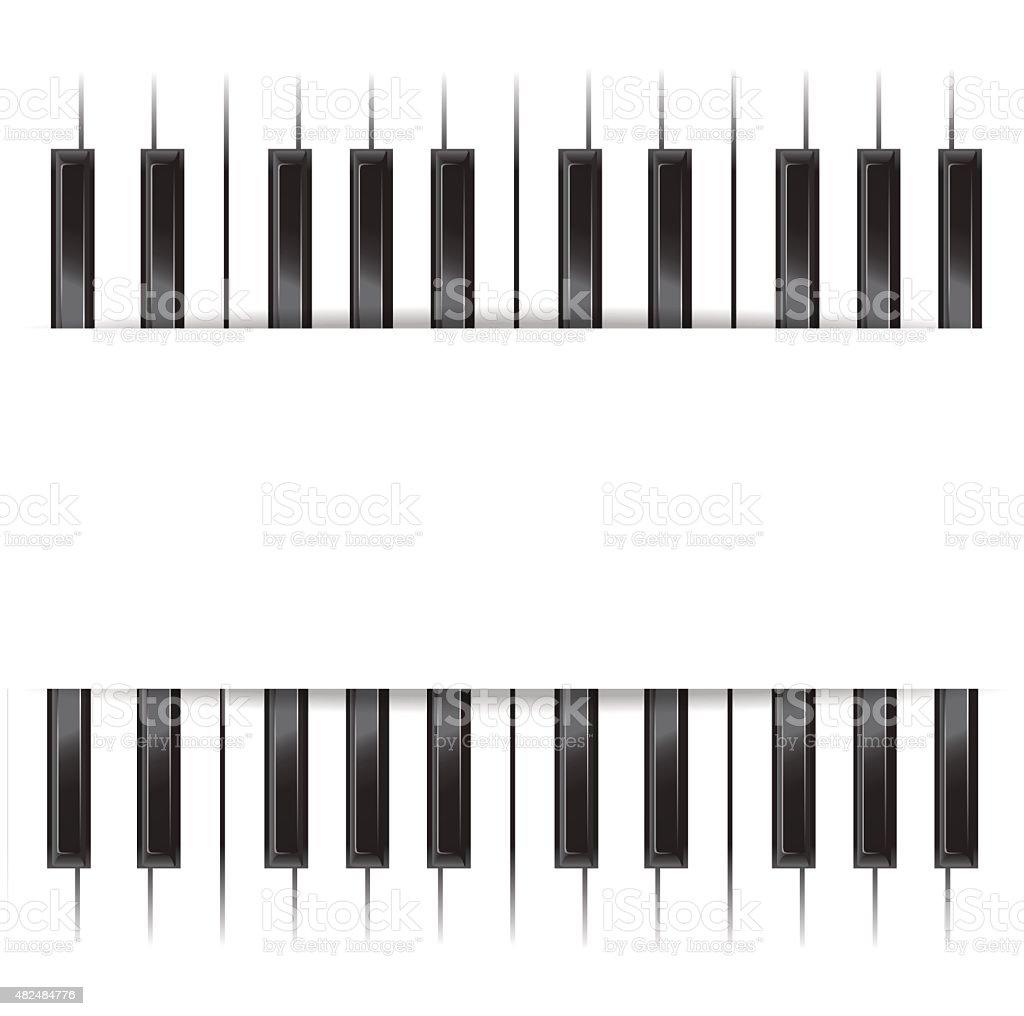 Piano Template Royalty Free Stock Vector Art Amp