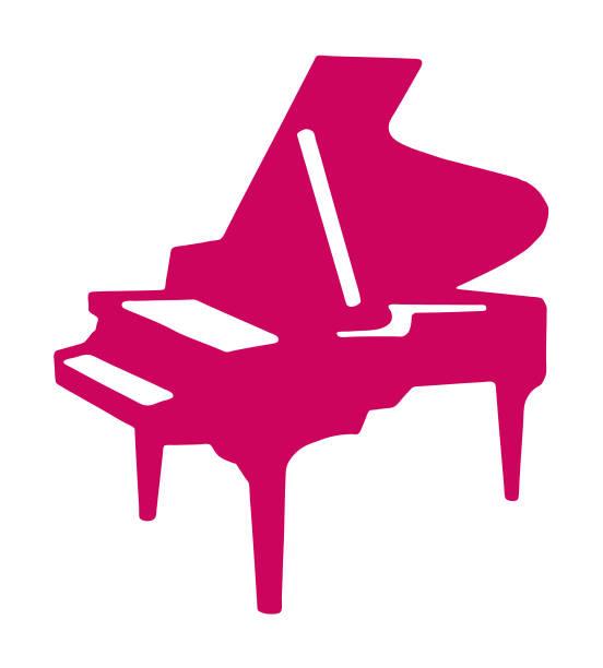 piyano - piano stock illustrations