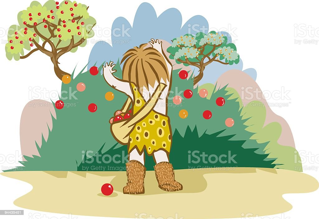 pick the fruit royalty-free pick the fruit stock vector art & more images of abundance