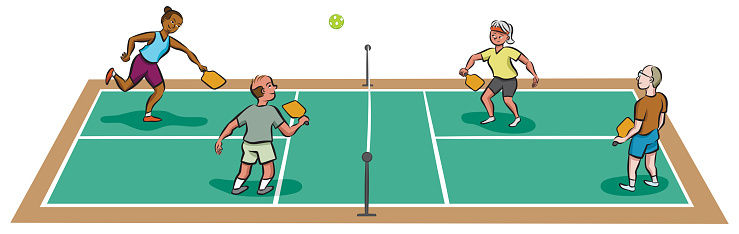 Pickleball Match