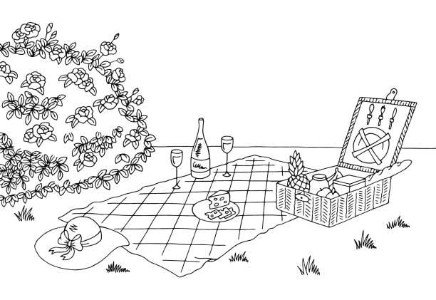 Picnic Blanket Illustrations, Royalty-Free Vector Graphics ...