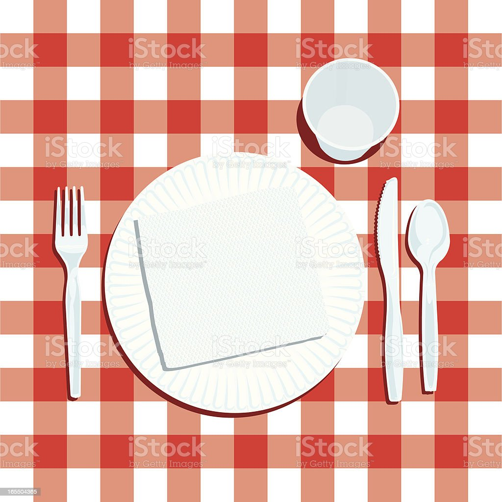 Royalty Free Paper Plate Clip Art Vector Images