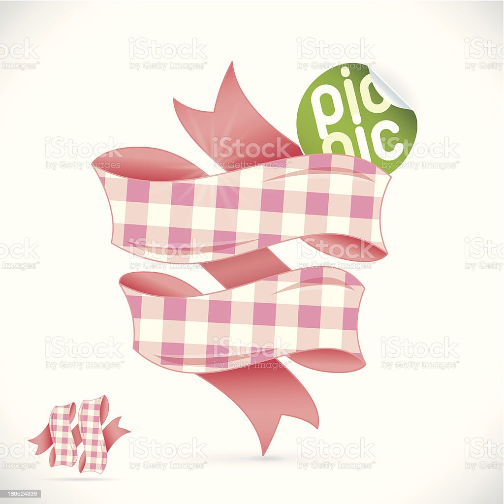 Picnic Sign royalty-free picnic sign stock vector art & more images of cotton