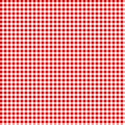 Picnic Table Cloth Seamless Checkered Vector Pattern