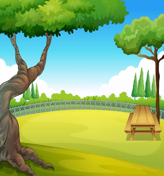 Royalty Free Picnic Table Clip Art, Vector Images ...