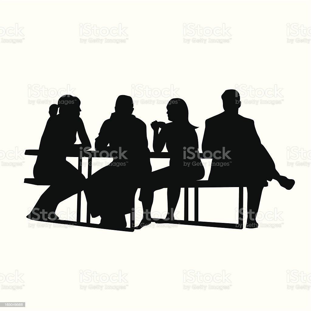 picnic table vector silhouette stock vector art amp more