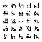 Pictogram Of Everyday Glyphs 8