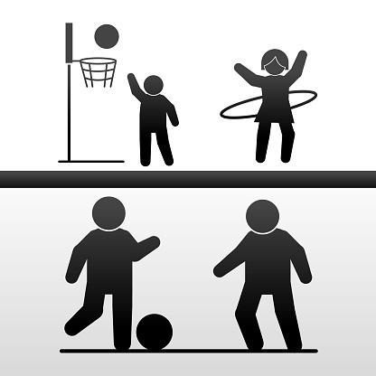 pictogram people sport