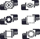 Picture Capture Media Hands