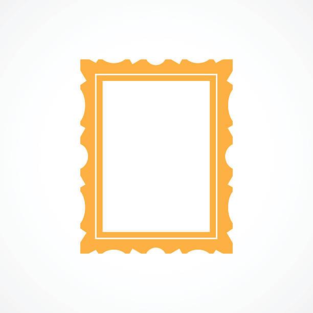 illustrations, cliparts, dessins animés et icônes de cadre photo icône - galerie d'art