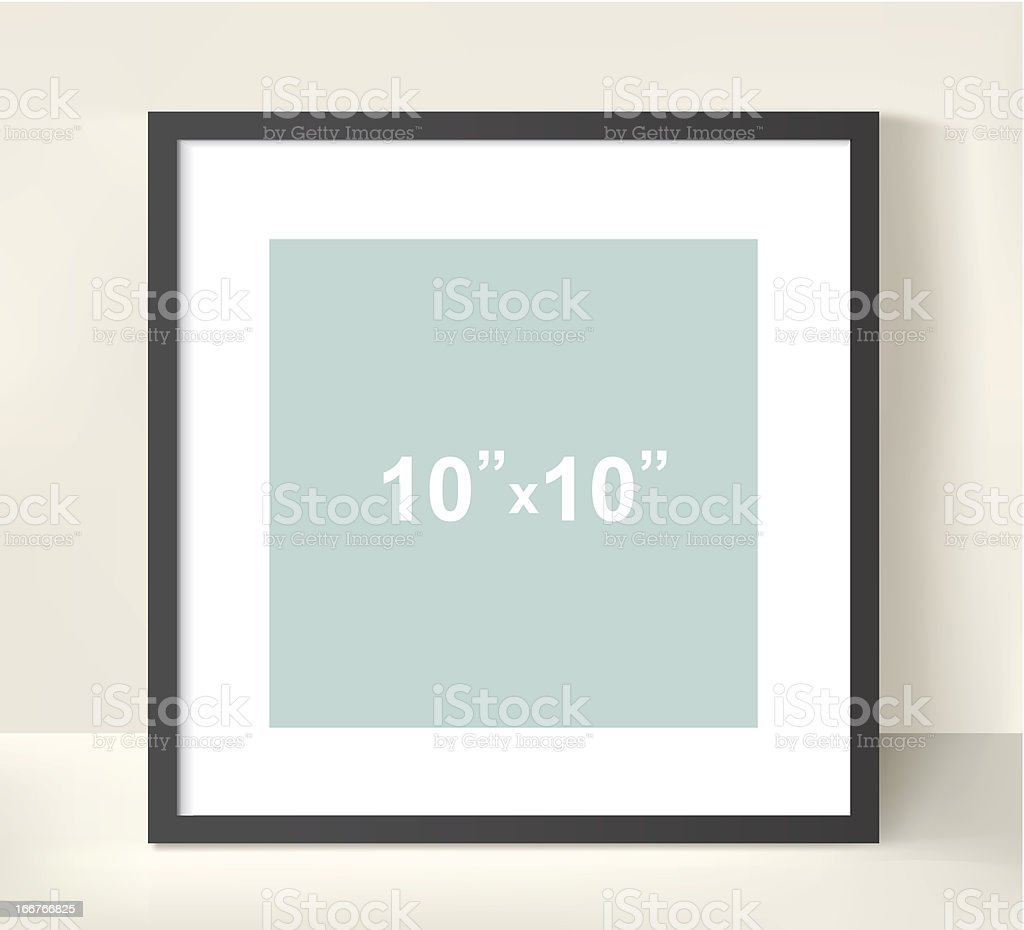 Picture frame royalty-free stock vector art