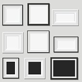 Picture frame , vector illustration