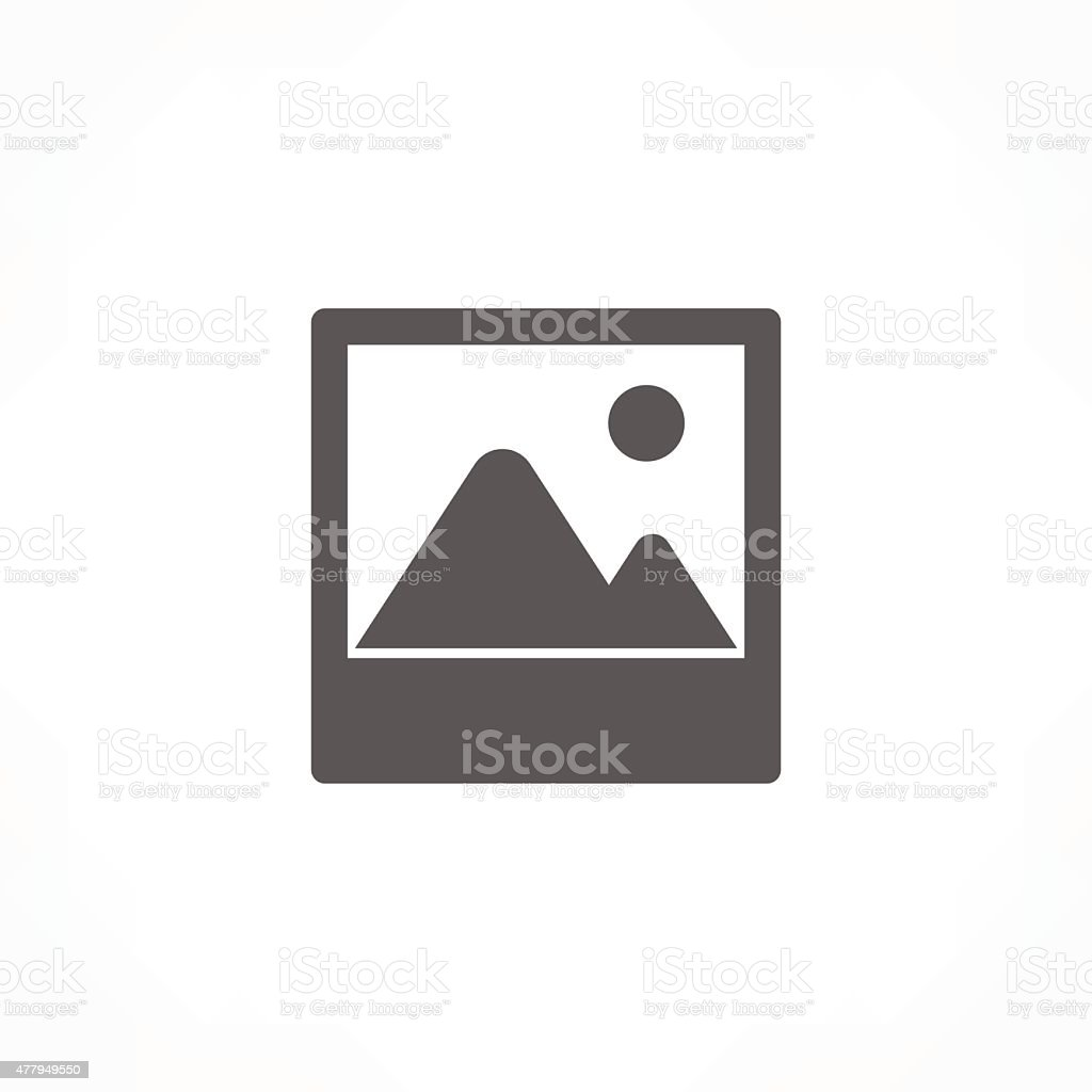 picture icon vector art illustration
