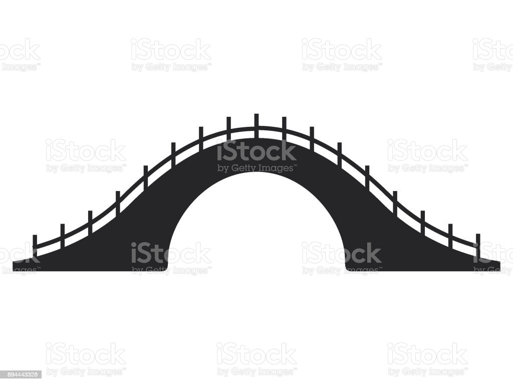 Picture Of Japanese Bridge Royalty Free Stock Vector Art Amp