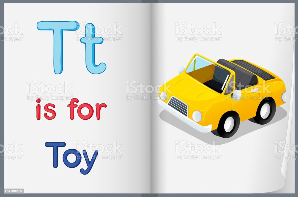 picture of toy in a book royalty-free picture of toy in a book stock vector art & more images of alphabet